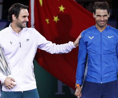 All of a sudden Rafael Nadal can't beat Roger Federer