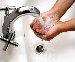 Hand Washing Behavior Improved in Second Graders