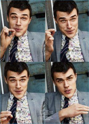 Finn Wittrock Stars in Esquire Shoot, Makes Case for Printed Shirts