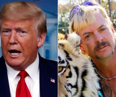 Trump says he will 'take a look' at 'Tiger King' Joe Exotic pardon