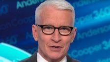 Anderson Cooper Shreds Donald Trump's Latest Gaslighting Attempt With Genius Caption