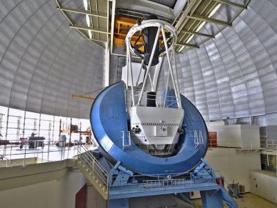 Solving the Dark Energy Mystery: A New Assignment for a 45-Year-Old Telescope