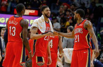 Davis leads Pelicans' rout of Lakers