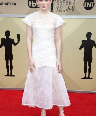 'Stranger Things' Cast 2018 SAG Awards Red Carpet Looks Are Out Of This World