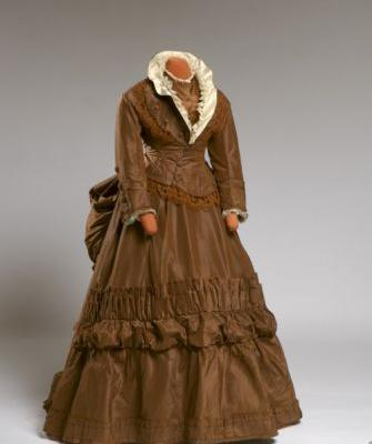 Wedding Dress1872-1876 Agnes Etherington Art Centre