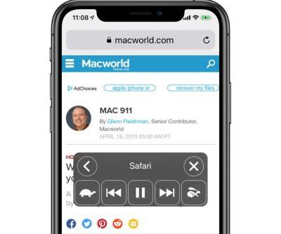 How to make your iPhone read to you by using Speak Screen in iOS