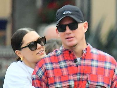 Channing Tatum and Jessie J Look *So* in Love While Packing on the PDA at Disneyland