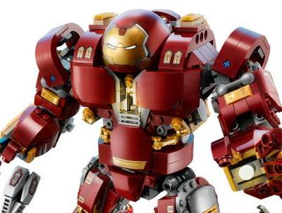 The LEGO Marvel Super Heroes Hulkbuster: Ultron Edition!