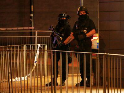 Images show how the deadly Manchester blast unfolded