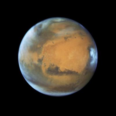 Researchers discover a huge lake of salt water buried beneath Mars. Life could be next
