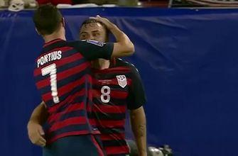 USMNT slips past Martinique   2017 CONCACAF Gold Cup