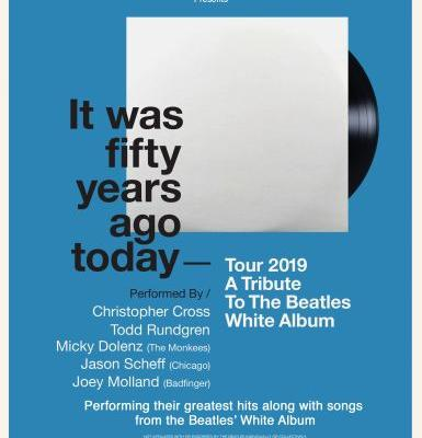 Todd Rundgren, Micky Dolenz, & Christopher Cross Are Taking The Beatles' White Album On Tour For Its 51st Anniversary