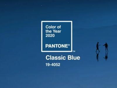 Classic Blue: Pantone Colour of the Year 2020 is a comforting and constant shade of blue