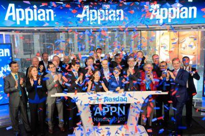 App maker Appian soars 25% on first day as a public company