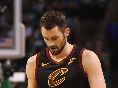 NBA playoffs 2018: Kevin Love being evaluated for concussion