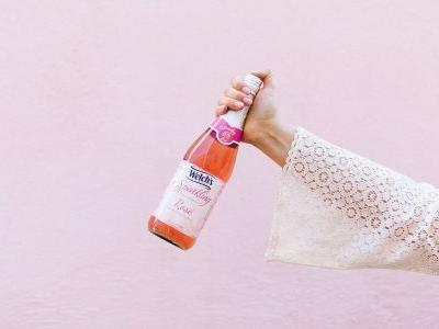 Non-Alcoholic Rosé Is Now a Thing, Thanks to Welch's