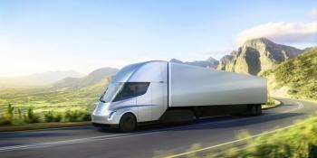 Tesla Shows Off New Electric Truck
