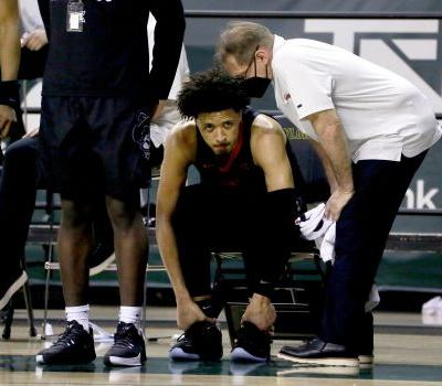 Oklahoma State star, NBA draft prospect Cade Cunningham injures ankle in loss to Baylor
