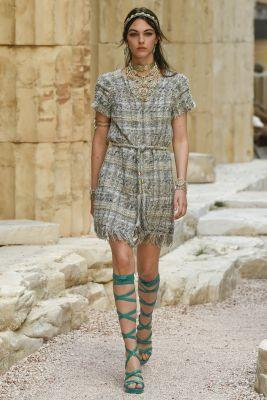 Chanel's Greek Odyssey In Paris For Cruise 2018