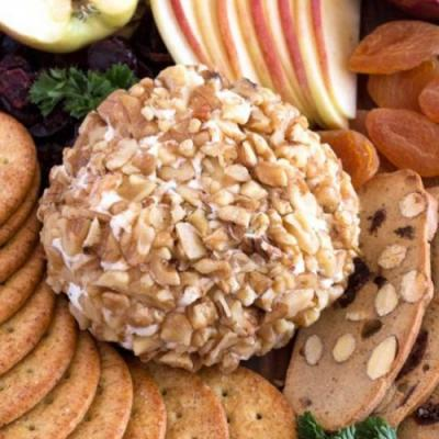Easy 3-Ingredient Cheese Ball Recip