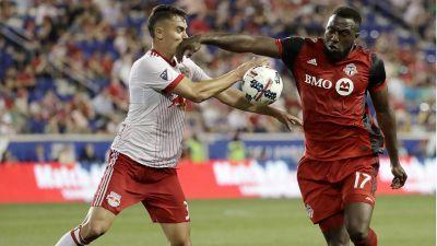 Toronto FC's win streak snapped after draw with Red Bulls