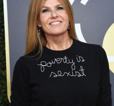 "Where To Buy Connie Britton's ""Poverty Is Sexist"" Sweater"