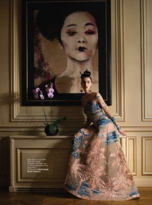 'Daydreaming'ELIE SAAB Haute Couture Spring Summer 2017 for ELLE
