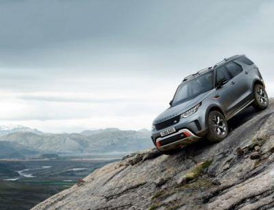 2019 Land Rover Discovery SVX Is Not a Subaru, Debuts with 518 Horses and a Lift Kit