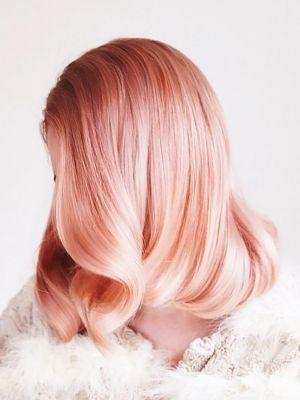 Peach Hair Is All Over Pinterest, and We're Mesmerized