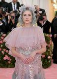 Lucy Boynton's Pastel Teal Hair Has Us Wondering If She Flew Out of FernGully Just For the Met Gala