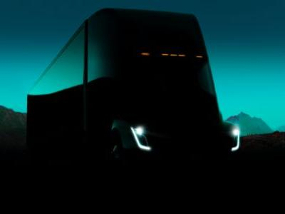 A first look at Tesla's promised electric semi