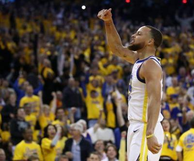 Steph Curry emphatically, profanely reasserts himself in Warriors' Game 3 rout of Rockets