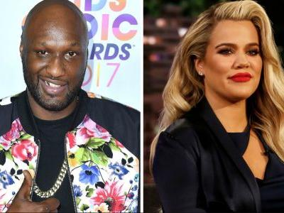 "Lamar Odom Jokes Khloé Kardashian Is Going to Have a ""Spoiled A- Baby!"""