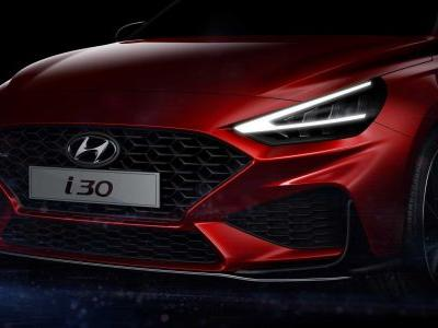 2021 Hyundai i30 N Line Facelift Teaser Shows Sharp Sporty Face