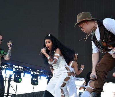 Cardi B's Coachella Weekend 2: J Balvin, Bad Bunny, SZA, & A Belly Rub From Jay-Z