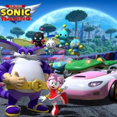 Team Sonic Racing Adds Amy Rose, Big the Cat, and Four Chao as Racers