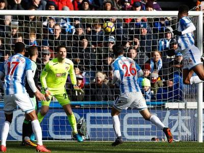 Huddersfield beats Bournemouth, out of EPL drop zone