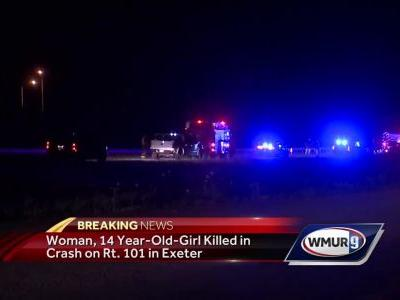 Woman, 14-year-old girl killed in Route 101 crash