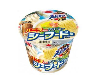 New Creamy Seafood Instant Noodle Is Supposed to Remind You of Vanilla Ice Cream