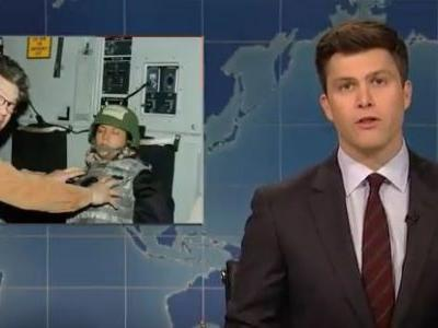 SNL goes after former cast member Al Franken, briefly