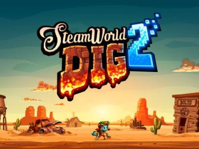 SteamWorld Dig 2 Physical Edition Coming This Spring for Switch, PS4