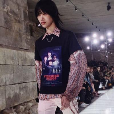 Louis Vuitton just put a Stranger Things tee on the runway