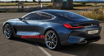More BMW 8-Series Concept Images Leak, Rear Perfectly Visible