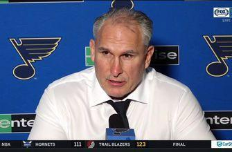 Berube: 'We hung on and won a game, and that's all that matters'