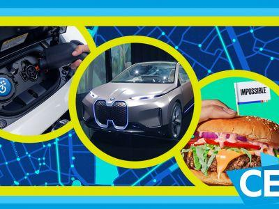 BMW Vision iNEXT Virtual Assistant, Audi's e-Foil, Nissan LEAF e-Plus and Impossible Burger 2: CES 2019 Day 3