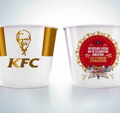 KFC's Royal Wedding Commemorative Bucket Will Be a Greasy Collector's Item