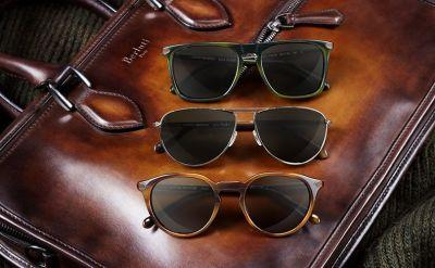 Berluti and Oliver Peoples collaborate