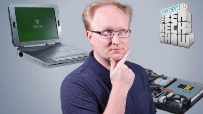 Ben Heck's Xbox One S laptop
