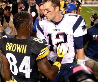Tom Brady to Antonio Brown: Move into my stunning mansion