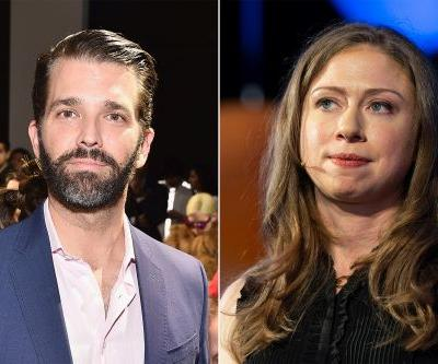 Donald Trump Jr. comes to Chelsea Clinton's defense after NYU video